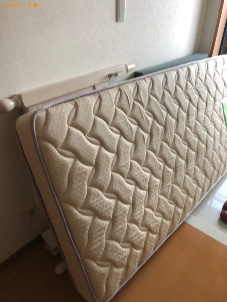 【屋久島町】シングルベッド(マットレス付)の回収・処分ご依頼
