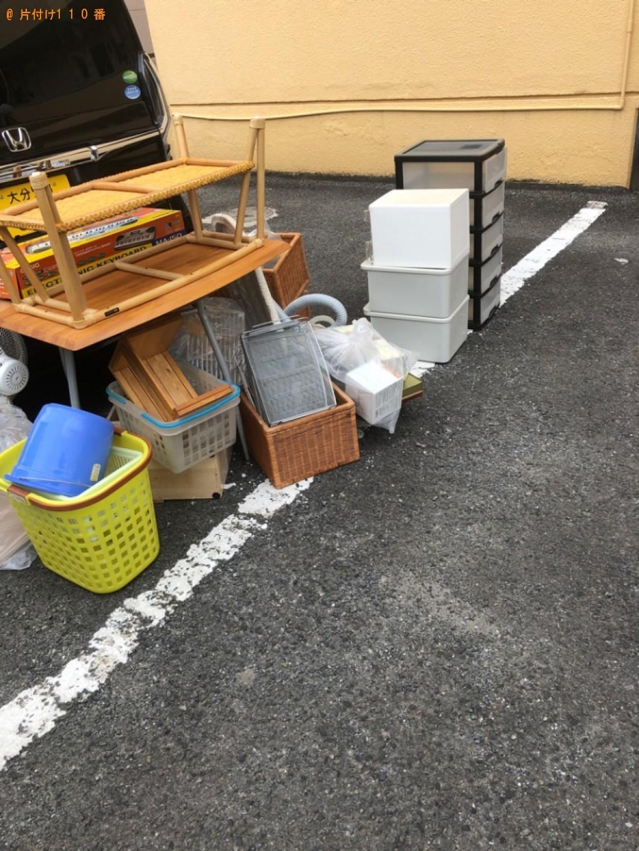 【国東市】ガラステーブル、鏡台、椅子等の回収・処分ご依頼