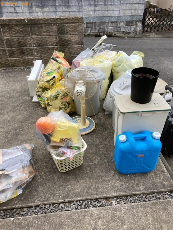 【大分市】扇風機、ポリタンク、ゴミ箱、一般ごみ等の回収・処分