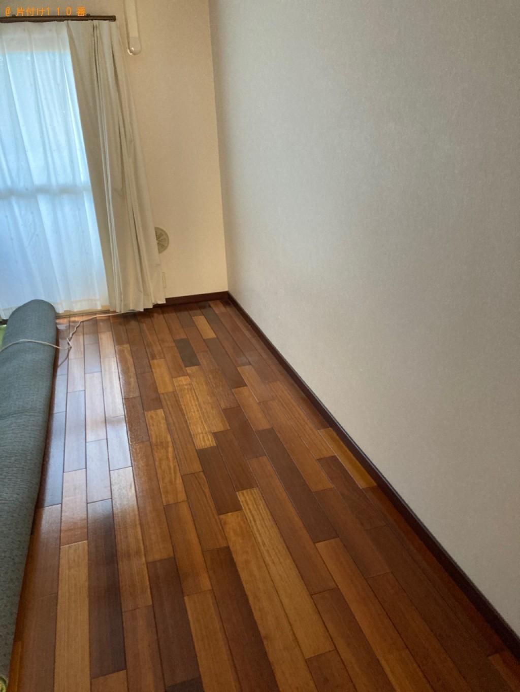 【大分市】シングルベッド、ベッドマットレス、家具の回収・処分
