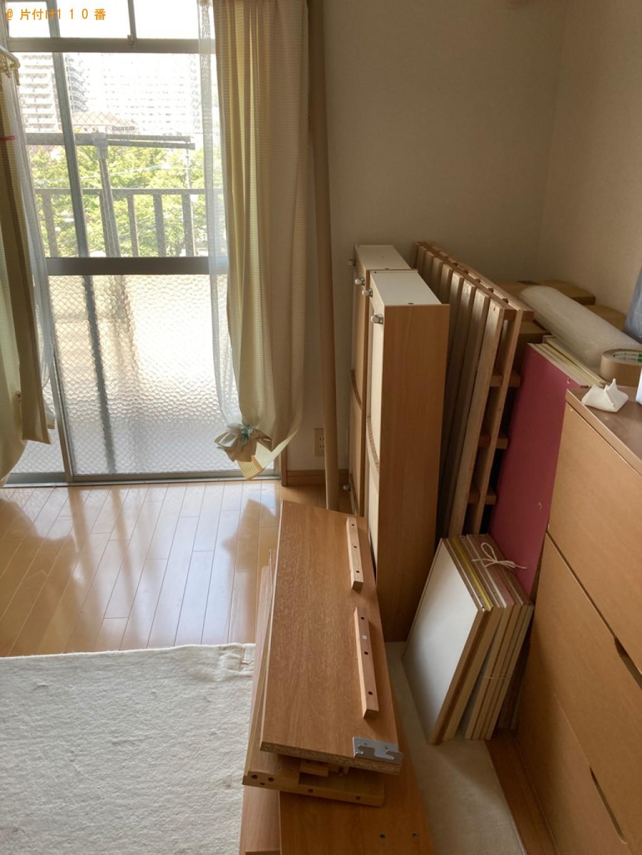 【大分市中春日町】こたつ、シングルベッド、一般ごみの回収・処分