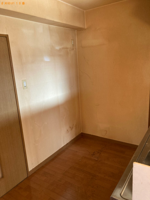 【大分市】冷蔵庫、エアコン等の回収・処分とハウスクリーニング