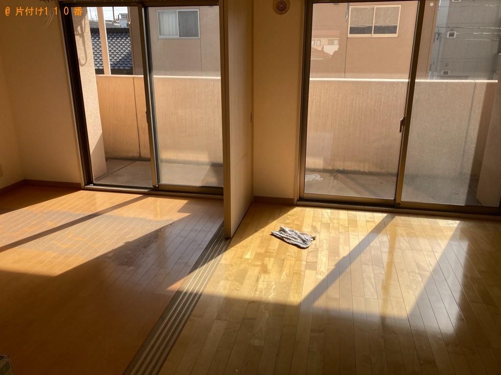 【大分市】冷蔵庫、洗濯機、マットレス付きシングルベッド等の回収