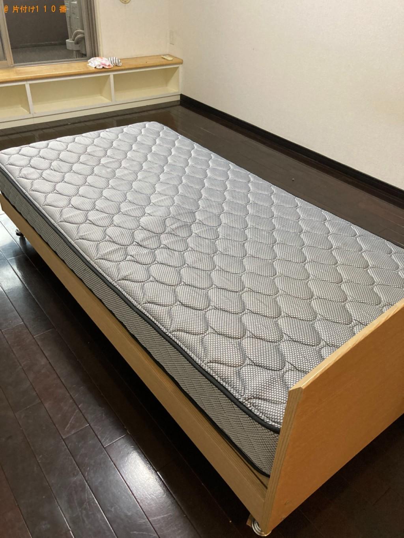【大分市】マットレス付きシングルベッドの回収・処分ご依頼