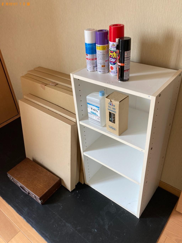 【大分市】本棚、カラーボックス、ギター、一般ごみ、塗料等の回収