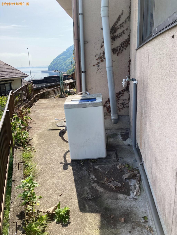 【別府市】冷蔵庫、マットレス付きシングルベッド、洗濯機等の回収