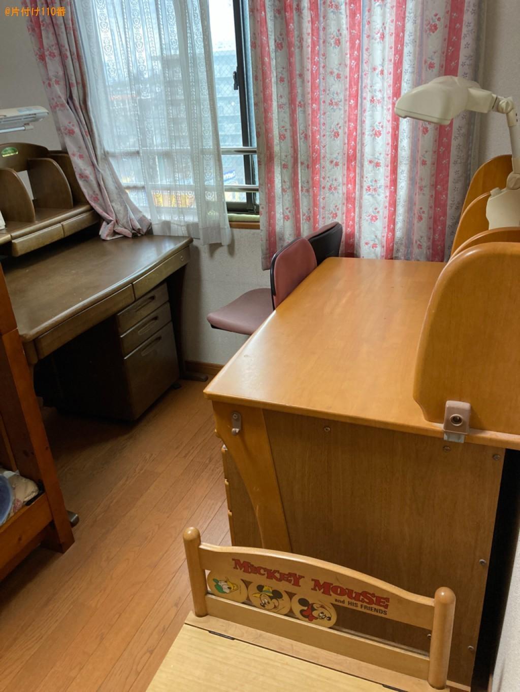 【大分市高城本町】学習机、椅子の回収・処分ご依頼 お客様の声