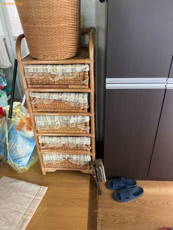 【大分市】冷蔵庫、カラーボックス、布団、こたつ等の回収・処分