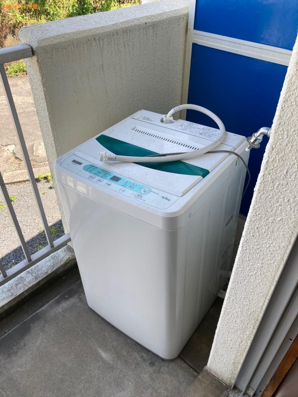 【大分市】洗濯機、PCデスク、椅子の回収・処分ご依頼 お客様の声