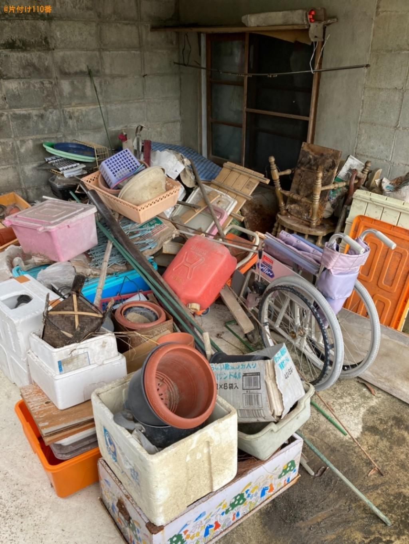 【由布市庄内町】車椅子、植木鉢、発泡スチロール、椅子等の回収