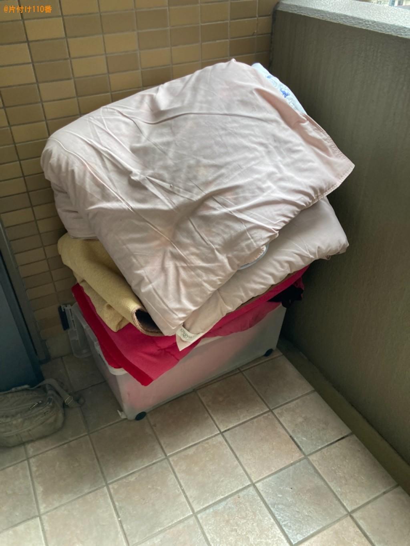 【大分市】電動ベッド、こたつ、こたつ布団、衣装ケース等の回収