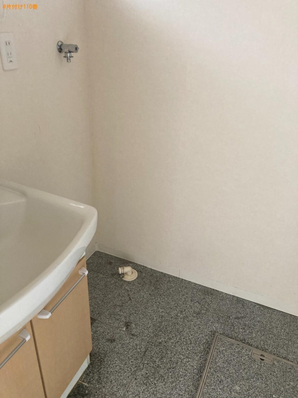 【大分市】洗濯機、マットレス付きシングルベッド等の回収