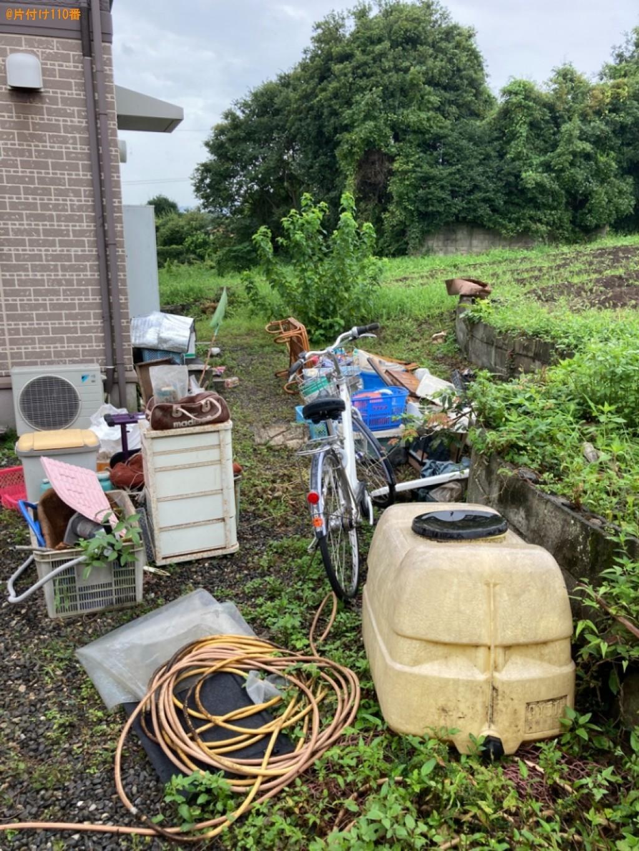【速見郡日出町】棚、板、家具、布団、カーペット、自転車等の回収