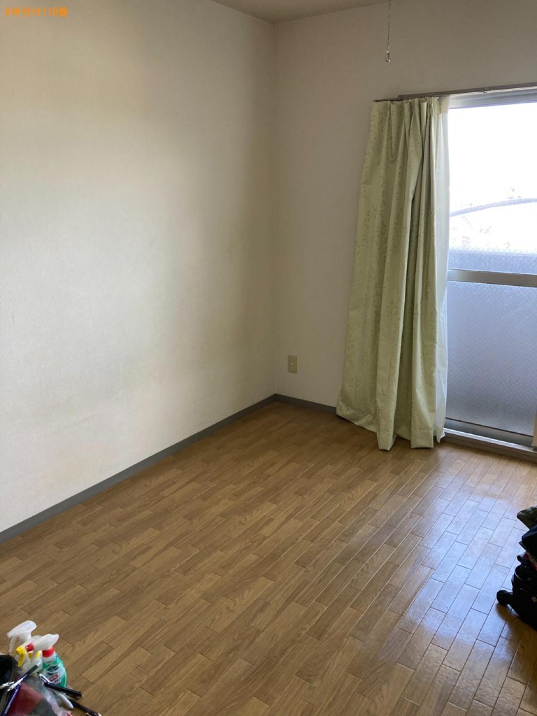 【大分市】冷蔵庫、マットレス付きシングルベッド、洗濯機等の回収